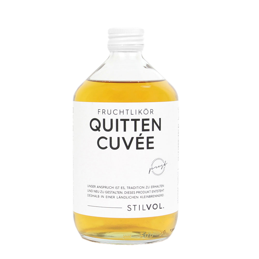 STILVOL. Schnaps und Likör | 500ml Quitten Cuvée Fruchtlikör