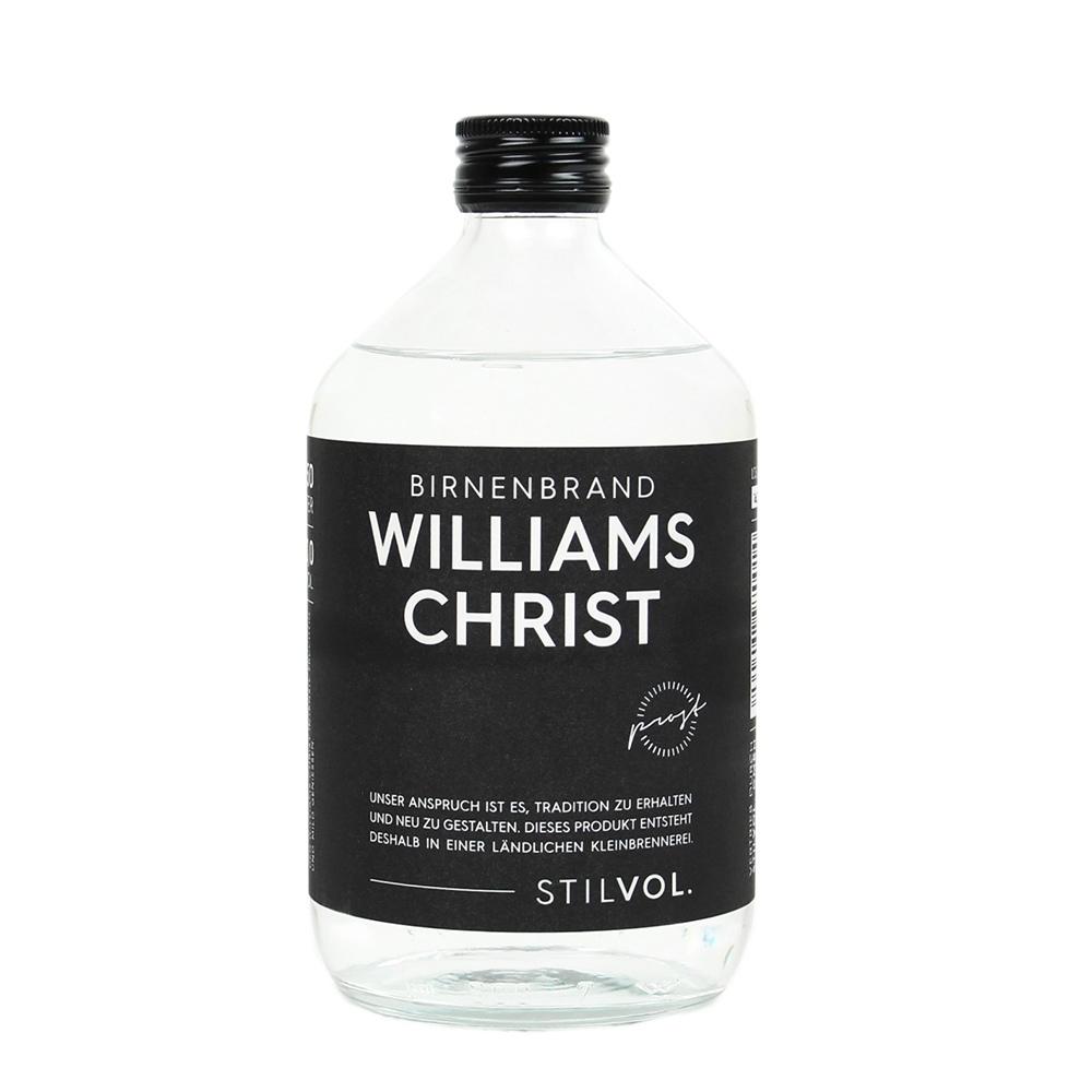 STILVOL. Schnäpse und Liköre |Williams Christ Birnenbrand 500ml