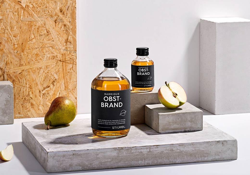 Obstler aus dem Holzfass | STILVOL. Schnaps und Likör |Schönes Design
