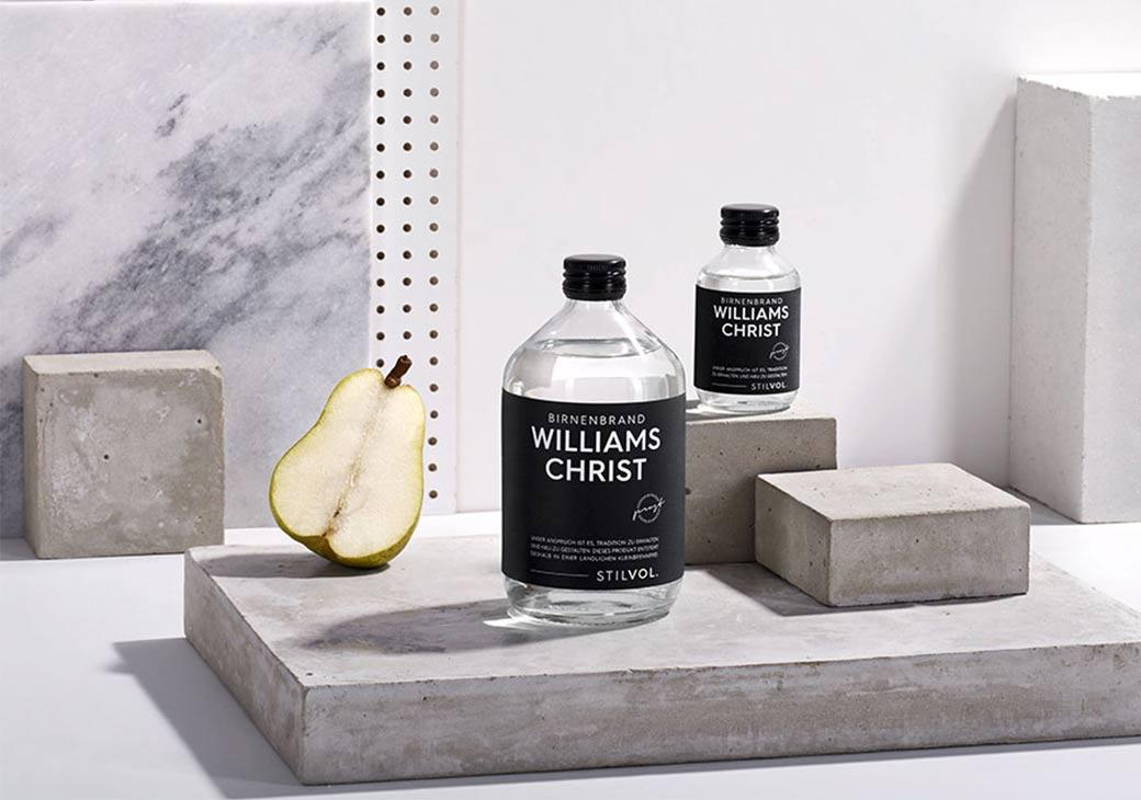 Williams Christ Birnenbrand | STILVOL. Schnaps und Likör |Schönes Design