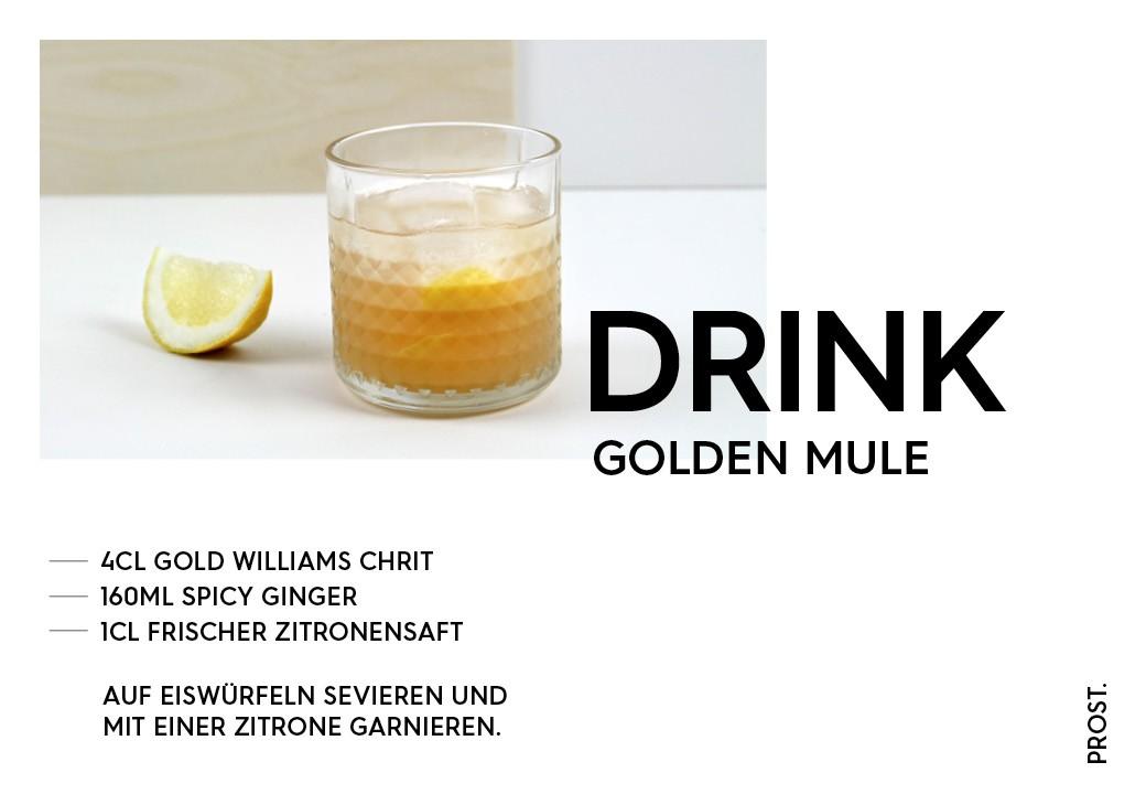 Golden Mule – STILVOL. Drinks und Cocktails aus Schnaps und Likör